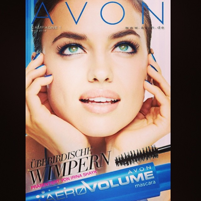 @irinashayk: @avoninsider Iam IN LOVE with this#new#aero#volume mascara#avon