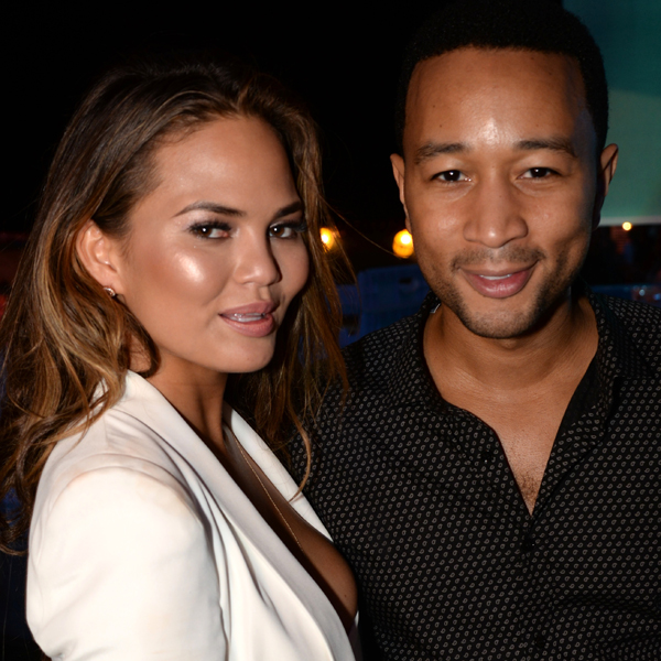 Chrissy Teigen and John Legend :: Getty Images