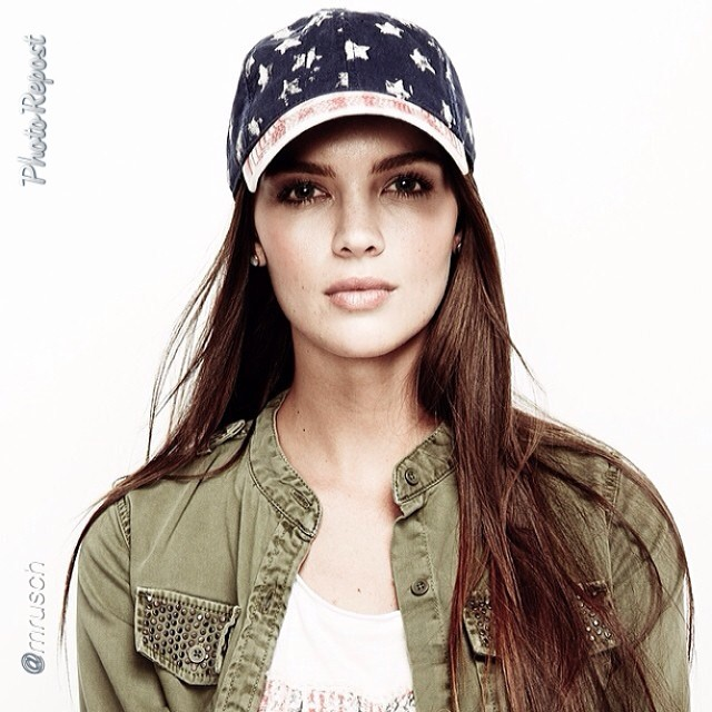 "@tashytashb: by @mrusch ""Todays lucky star @tashy_tashb #luckybrand "" @imgmodels"