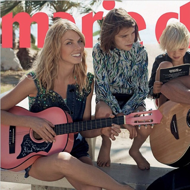 @angelalindvall: Thank you @marieclaireitalia such a fun time with #friends &#family