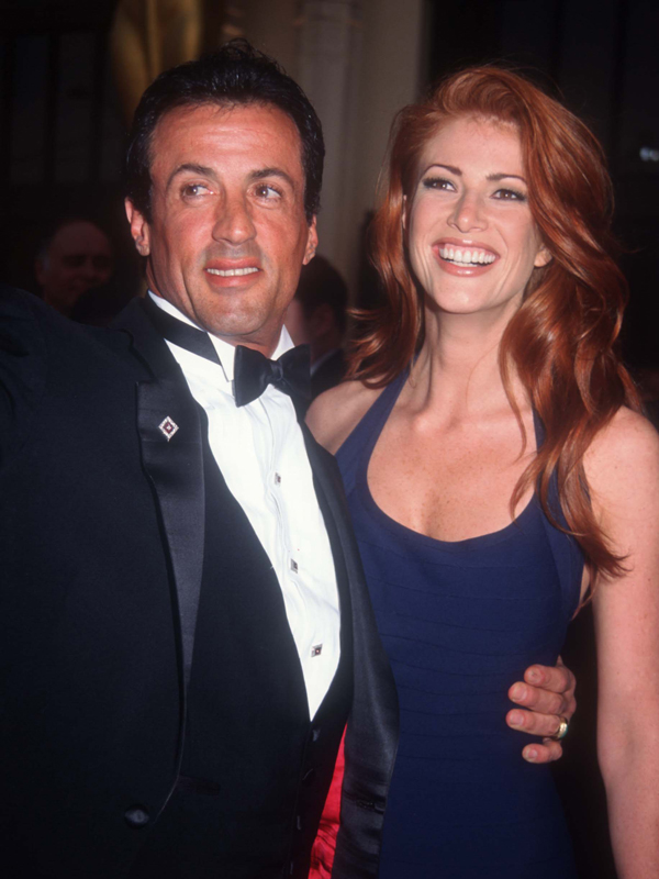1995 (with Sylvester Stallone, obviously) :: Hulton Archive