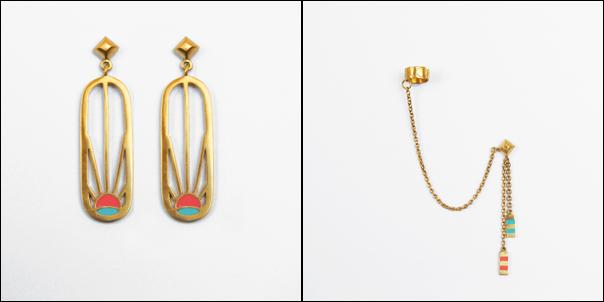 Rise Deck Earrings | Pop Cuff