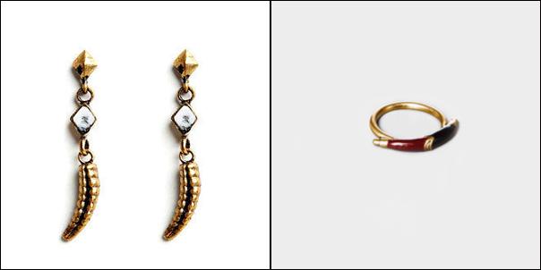 Watut Snake-Tail Earrings | Maat Ring