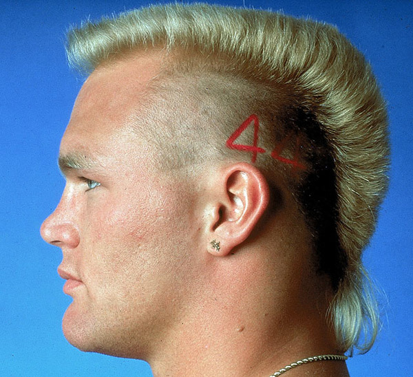 Brian Bosworth :: Walter Iooss Jr./SI