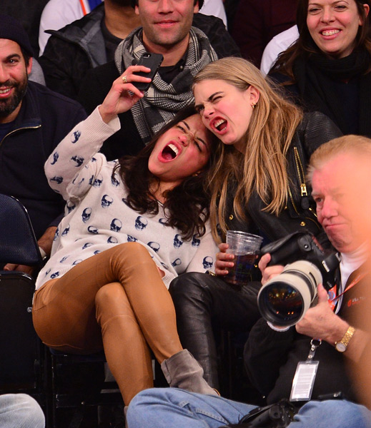 Cara Delevingne and Michelle Rodriguez :: Getty Images