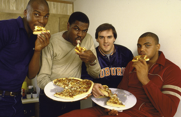 Charles Barkley :: George Tiedemann/SI