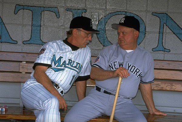 Jim Leyland and Don Zimmer (1997) :: Bob Rosato/SI