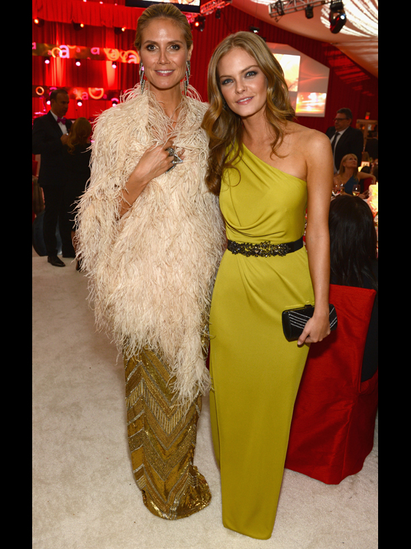 2013 (with Heidi Klum) :: Getty Images