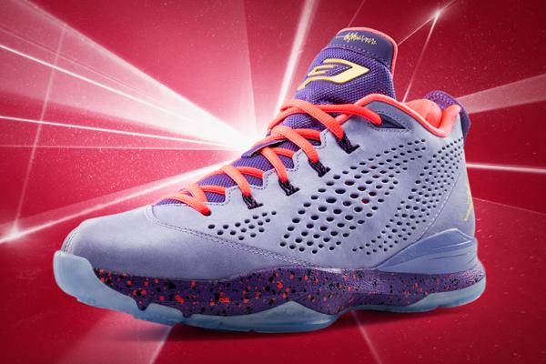 """The 2014 All-Star Game version of Chris Paul's """"CP3.VII"""" sneakers. (Jordan)"""