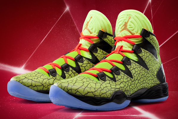 """The 2014 All-Star Game version of the """"XX8 SE"""" sneakers. (Jordan)"""
