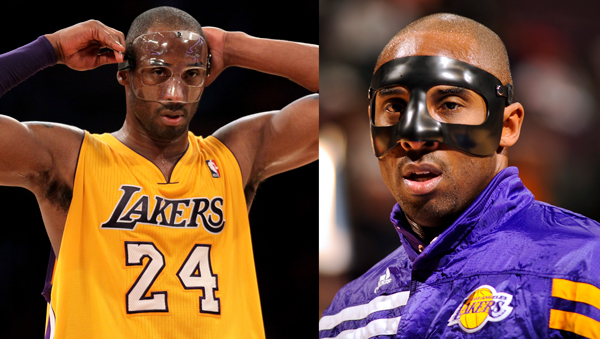 A Game Genre Copycat Face Off Heats Up: Kobe Bryant Game-Worn Protective Face Mask To Be Auctioned
