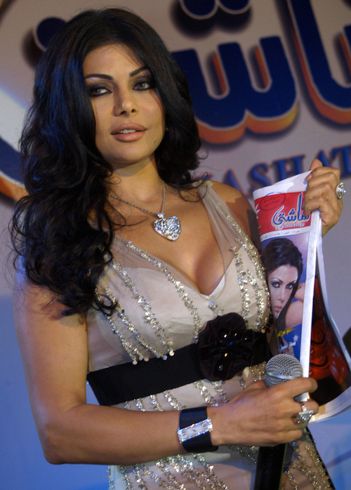 Lebanon :: Haifa Wehbi (AFP/Getty Images)