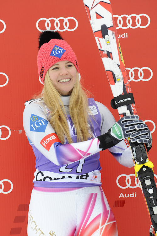 Liechtenstein :: Tina Weirather - also competing (Getty Images)