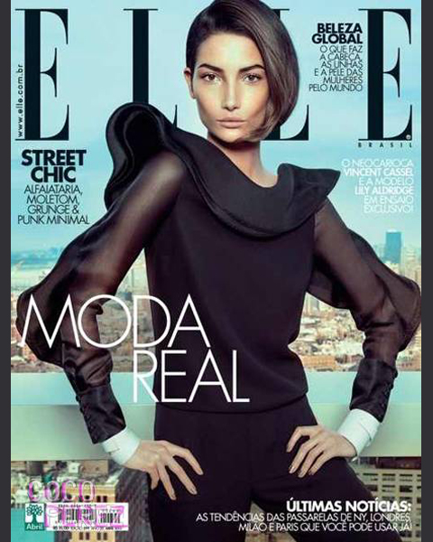 April 2013 :: Elle (Brazil) by Eduardo Rezenee