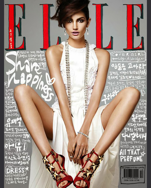 December 2013 :: Elle (Korea) by Hong Jang Hyun