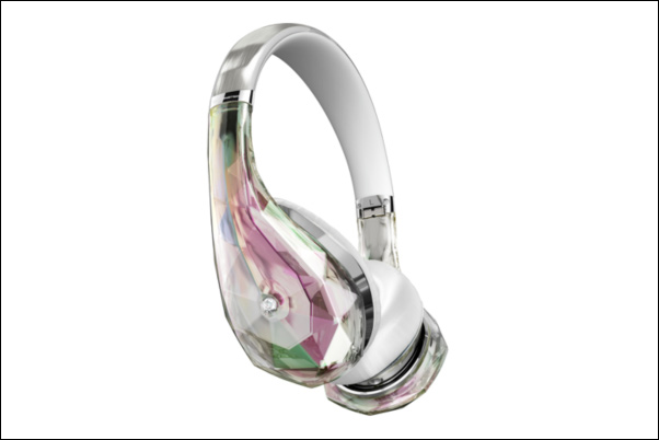 Diamond Tears headphones (in crystal)
