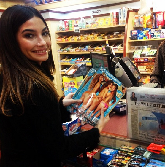 @lilyaldridge: Buying my first (2) copies of @si_swimsuit!!! So exciting!!!