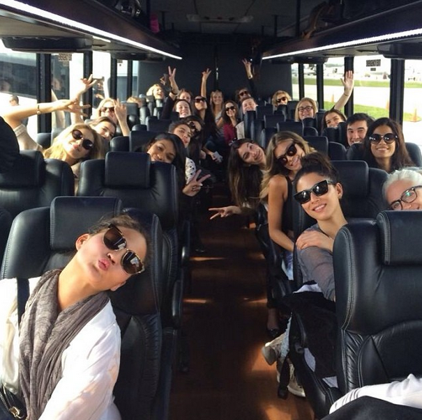 @mj_day: We have arrived #miami #siswim50 #thehotbus