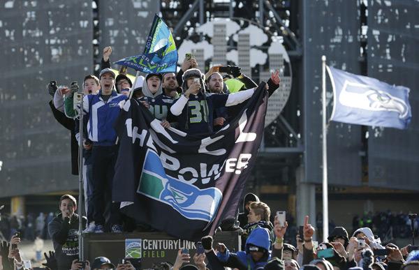 Seahawks fans :: AP