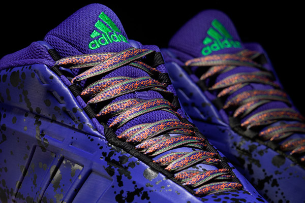 "A detail look at the 2014 All-Star edition of Adidas's ""Crazy 1"" sneakers. (Adidas)"