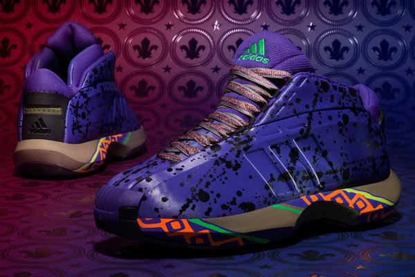 "The 2014 All-Star edition of Adidas's ""Crazy 1"" sneakers. (Adidas)"