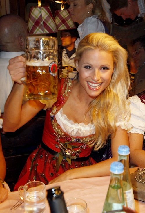 Switzerland :: Michelle Hunziker (Getty Images)