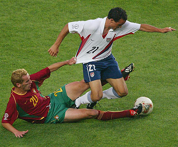 Landon Donovan (2002) :: Ben Radford/Getty Images