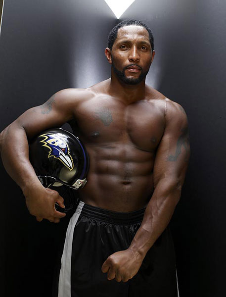 Ray Lewis ::  Michael O'Neill/SI