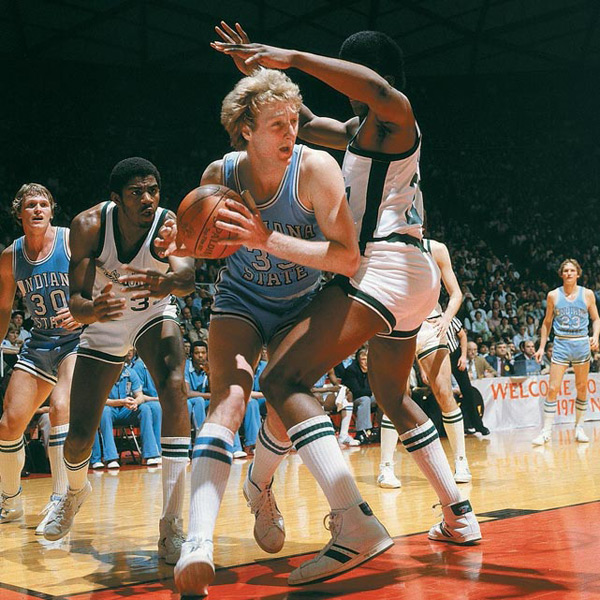 5. Larry Bird :: James Drake/SI