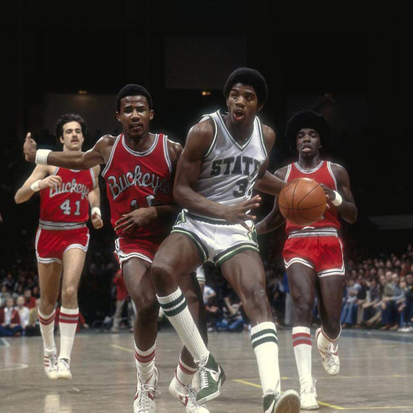8. Magic Johnson :: Heinz Kluetmeier/SI