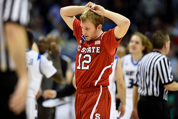 Tyler Lewis, NC State :: Bill Frakes/SI