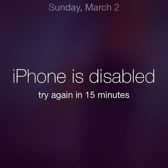 @josiemarancosmetics: This is what happens when your kid tries to break into your phone. #patience