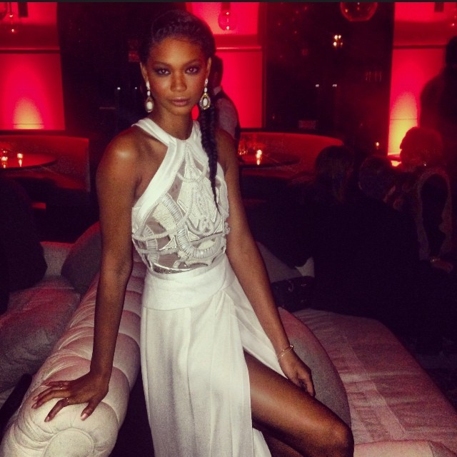 @chaneliman: Hollywood evening at Harvey Weinstein Pre-Oscar party