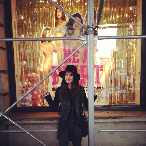 My first window at @vspink :D