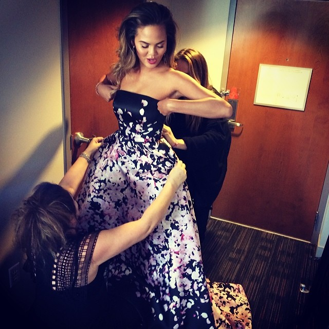 @chrissyteigen: It takes a village @mimicuttrell @highheelprncess