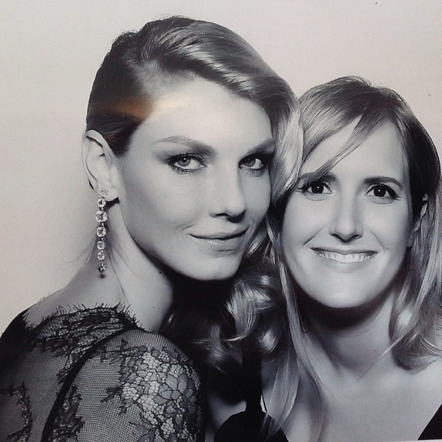 @angelalindvall: Best night ever with my best friend in the world @jessicaccox #oscars thank you @guyoseary @immichellealves
