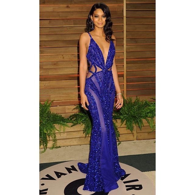 @chaneliman: Vanity Fair Oscar party 2014