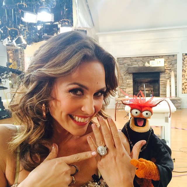 @josiemarancosmetics: Pepe just asked me to marry him @qvc!!! #muppetsonqvc #prawn #pepe