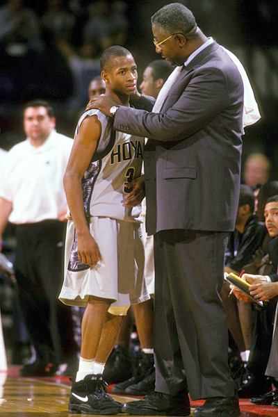 Allen Iverson and John Thompson :: Mitchell Layton/Getty Images