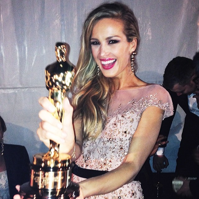 @pnemcova: I would like to say thank you to everyone for wonderful & #fun #oscars2014 night! @chopard @ralphandrusso