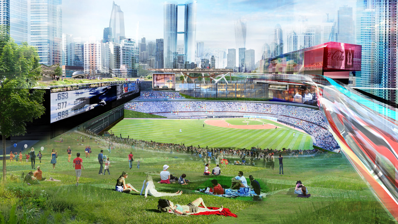 Introducing Populous Living Park An Exclusive Baseball