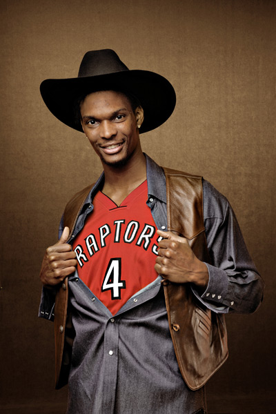 Chris Bosh :: Peter Gregoire/SI
