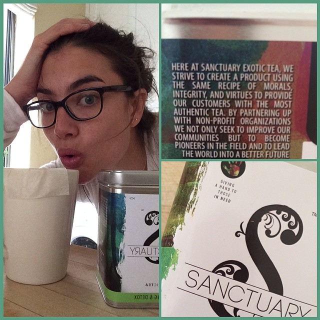 @laurenn_mellor: Thanks to Sanctuary Exotic Tea for helping me kick jet lag and detox al natural#sanctuary #exotictea www.stea.co #givingahandtothoseinneed@wilhelminamodels