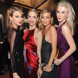 @gigihadid: gigihadid surrounded by talent and beauty last night at @vanityfair #vfoscars
