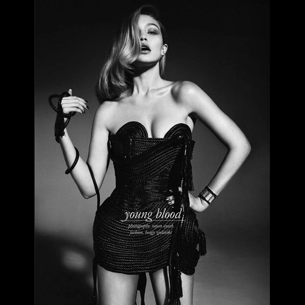 Gigi Hadid for Schön! Magazine :: Rayan Ayash