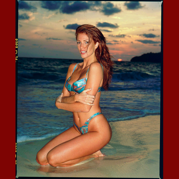 Angie Everhart, 1995 :: Walter Iooss Jr./SI