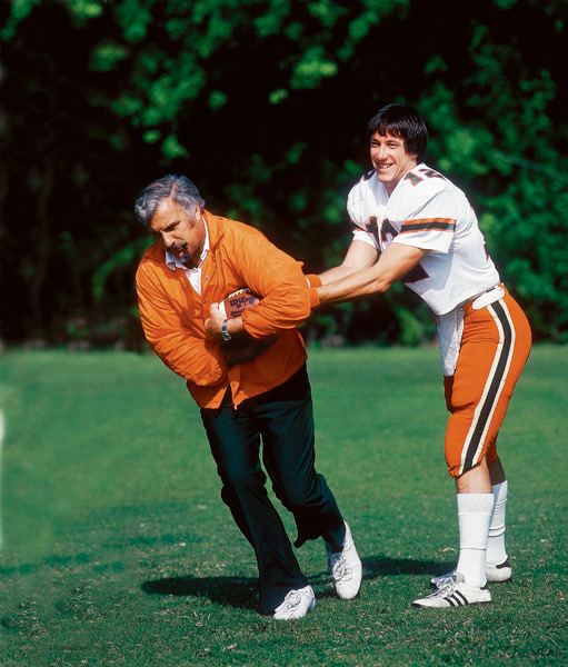 Jim Kelly and Howard Schnellenberger (1982) :: Heinz Kluetmeier/SI