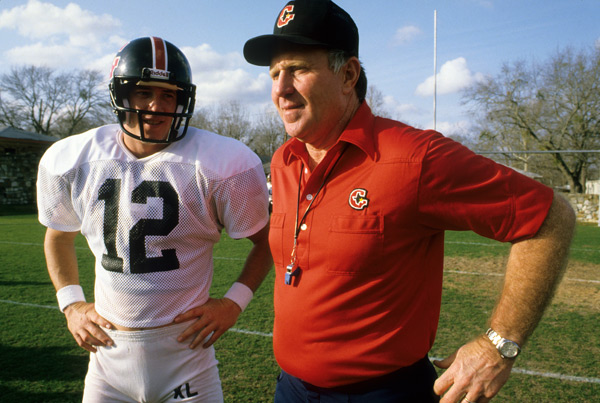 Jim Kelly and  Jack Pardee (1984) :: Lane Stewart/SI