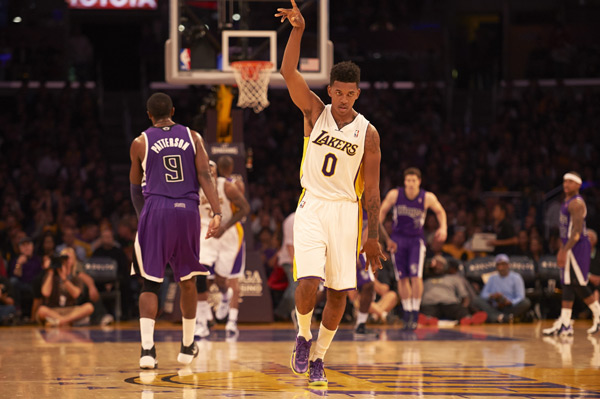 Nick Young ::  Robert Beck/SI