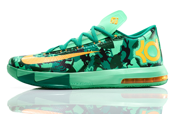 Nike's KD VI Easter Collection sneakers for Thunder forward Kevin Durant. (Nike)